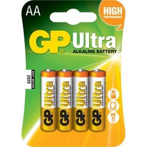 Ultra Alkalna AA GP baterija 15AU (LR6) 4 kosi