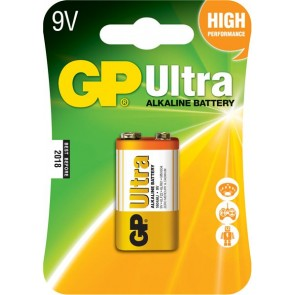 Ultra Alkalna 9V GP baterija 1604AU (6LF22)