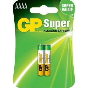 Super Alkalna AAAA GP baterija 25A (LR8D425) 2 kosa