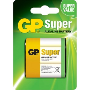 Super Alkalna 4,5 V GP baterija 312A (3LR12)