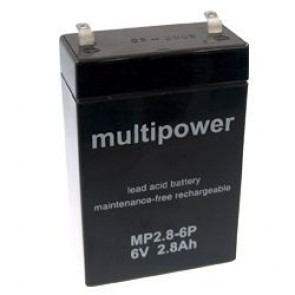 Akumulator Multipower MP2.8-6P