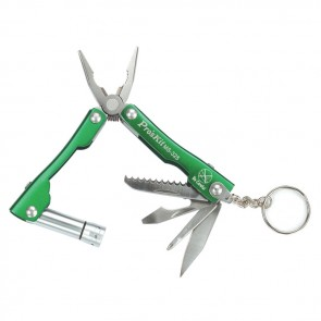 Obesek za ključe z 7 delnim kompletom orodja in LED svetilko