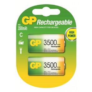 C 3500 mAh Ni-Mh polnilna GP baterija (2 kosa)