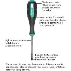 Ravni izvijač z Pro-soft reliefnin gumiranim držalom dolžine 16
