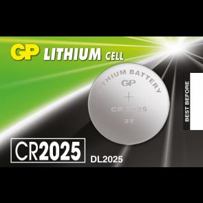 Gumb baterija CR2025