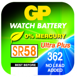 Gumb baterija 362f