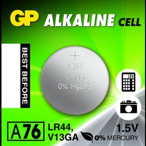 Gumb baterija LR44