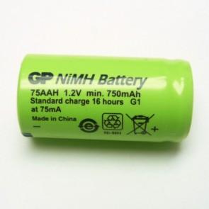 GP GP75AAH 2/3 AA Minjon industijska polnilna NiMh baterija 750mAh