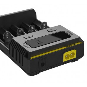 Nitecore NEW i4 Inteligenten 4 kanalen polnilec za Li-Ion, LiFePO4 and Ni-Mh