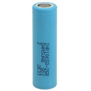 Li Ion 18650 2500mAh (max 20A) Samsung