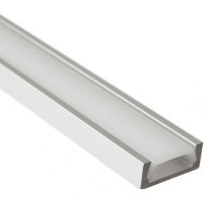 LED alu profil + mlečna blenda - 1m