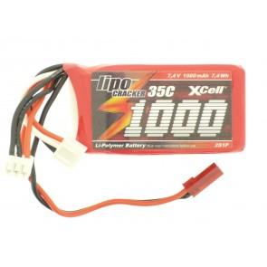 Li-poly baterija 7,4V 1000mAh