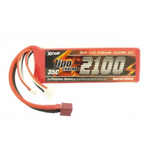 Li-poly baterija 7,4V 2100mAh
