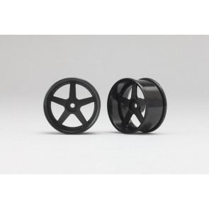 Drift platišča 5 krakov 6mm offset črna - 2 kosa
