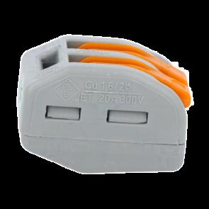Spojka za 2 kabla 32A 400 V