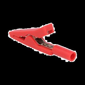Sponka krokodil CR-2 PM-R 10A 60VDC 41,5 mm rdeča