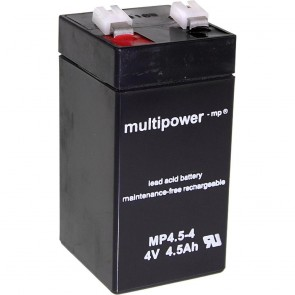Svinečen akumulator Multipower MP4.5-4 VRLA, 4V, 4,5 Ah
