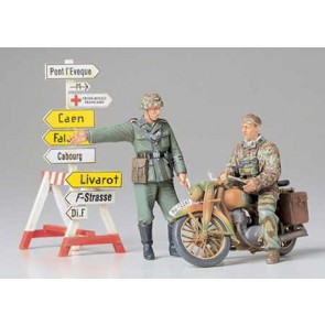 Set Nemških vojakov z motorjem