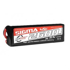 RcPlus Li-poly 11,1V Sigma 45C 2600mAh